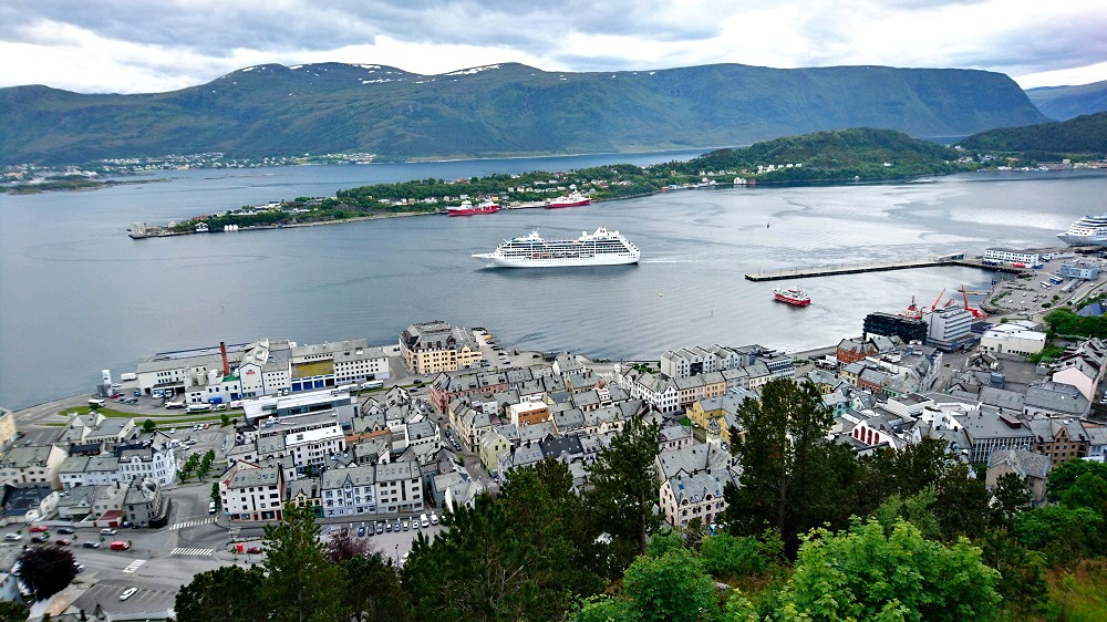 View from Alesund